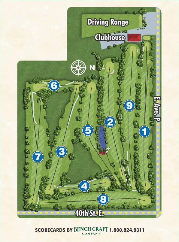 Desert Aire course layout